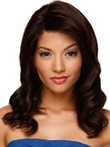 Luxury Wavy Medium Lace Front Remy Hair Wig
