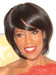 Short Straight Elaborately Synthetic Wig