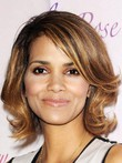 Halle Berry Remy Human Hair Wavy 100% Lace Front Celebrity Wig