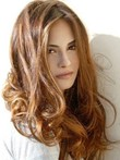 Wavy Remy Human Hair Glamorous Lace Front Wig