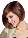 Straight Stunning Human Hair Lace Front Wig