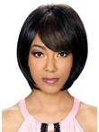 Straight Medium Synthetic Stunning Capless Wig
