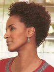 Short Popular Curly 100% Remy Human Hair Wig