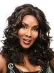 Capless Wavy Long Synthetic Stylish African American Wig