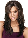 Long Synthetic Layers African American Wig