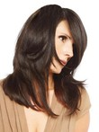Dazzling Long Straight Capless Human Hair Wig