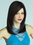 Straight Impressive Lace Front Synthetic Wig