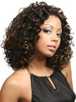 Carefree Fluffy Lace Front Wavy African American Wig