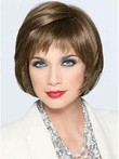 Impressive Short Monofilament Synthetic Bob Wig