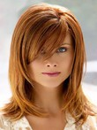 Straight Capless Modern Synthetic Wig