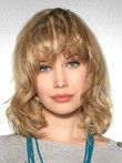 Wavy Remy Human Hair Gorgeous Lace Front Wig