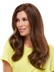 Silky Long Capless Wavy Human Hair Wig