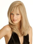 Human Hair Stylish Capless Straight Wig