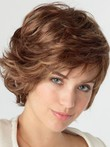 Good Looking Lace Front Wavy Human Hair Wig