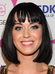 Sexy Katy Perry Capless Synthetic Celebrity Wig