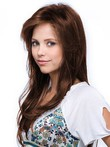 Layers Straight Long Relaxed Magnificent Long Human Hair Wig