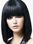 Chic Synthetic Capless Straight Wig