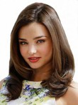 Lace Front Romantic Wavy Human Hair Wig