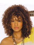 African American Cute Synthetic Wig With Endless Little Curls
