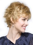Short Stunning Cropped Pixie Synthetic Wig