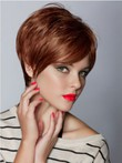 Short Capless Boycuts New Style Straight Wig