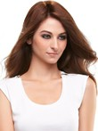 Popular Lace Front Auburn Human Hair Wig