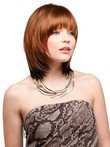 Chic Collar Layers Length Synthetic Wig