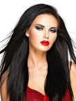 Attractive Straight Human Hair Full Lace Wig