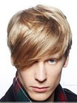 Attractive Straight Synthetic Capless Wig