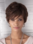 Bob Capless Synthetic African American Wig