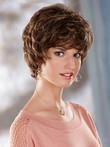 Synthetic Wavy Tousled Short Nice Capless Wig