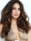 Synthetic Long Stunning Lace Front Wavy Wig