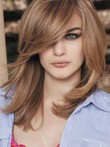 Straight Capless Medium Length Magnificent Synthetic Wig
