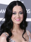 Katy Perry Synthetic Wavy Long Celebrity Wig
