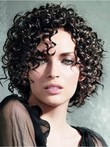 High Quality Popular Curly Synthetic Capless Wig