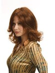 Wavy Hand Tied Stylish Remy Human Hair Wig