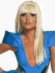 Lady Gaga Sexy Capless Straight Long Celebrity Wig