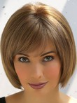 Bob Style Charming Cut Short Remy Human Hair Wig