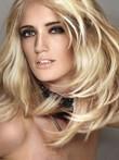 Lace Front Straight Elegant Human Hair Wig
