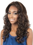 Long Spiral Wavy Synthetic Modern African American Wig