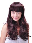Fashion Long Synthetic Comfortable Wavy Capless Wig