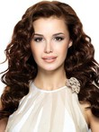 Full Lace Charming Wavy Human Hair Wig