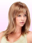 Length Mid-capless Beautiful Synthetic Wig