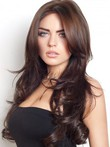 Elegant Long Capless Wavy Synthetic Wig