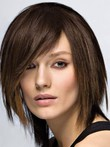 Straight Capless Short Impressive Human Hair Wig