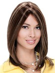 Mono Remy Human Hair Straight Wig For Woman
