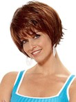 Stunning Fashionable Wavy Synthetic Wig
