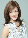 Cute Wavy Lace Front Soft Remy Human Hair Wig