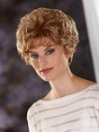 Lace Front All Over Wavy Charming Synthetic Wig