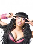 Nicki Minaj's Synthetic Long Wavy Celebrity Wig